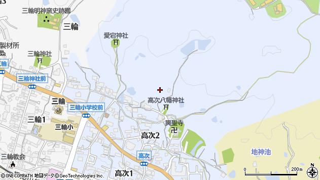 〒669-1512 兵庫県三田市高次の地図
