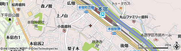 魚義周辺の地図