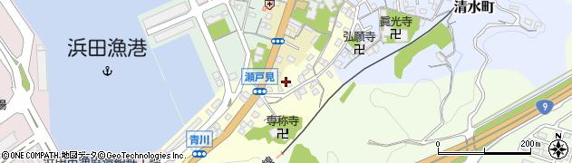 島根県浜田市瀬戸見町周辺の地図