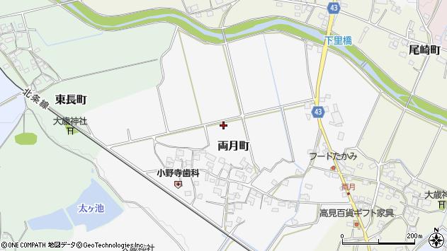〒675-2233 兵庫県加西市両月町の地図