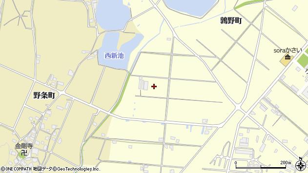 〒675-2103 兵庫県加西市鶉野町の地図
