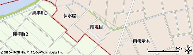 愛知県安城市根崎町(南境目)周辺の地図