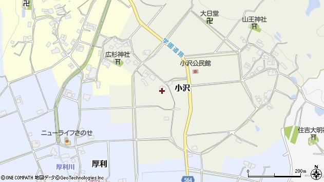〒673-1333 兵庫県加東市小沢の地図