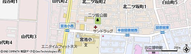 まさご寿司本店周辺の地図