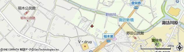 愛知県新城市豊栄(向イ)周辺の地図