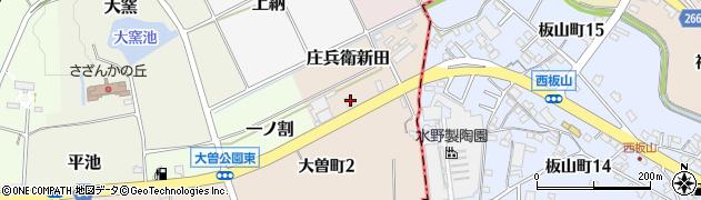 山源周辺の地図