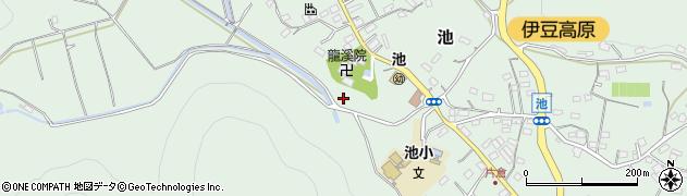 静岡県伊東市池下里周辺の地図