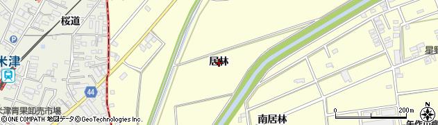 愛知県安城市藤井町(居林)周辺の地図