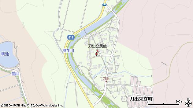 〒671-2241 兵庫県姫路市刀出の地図