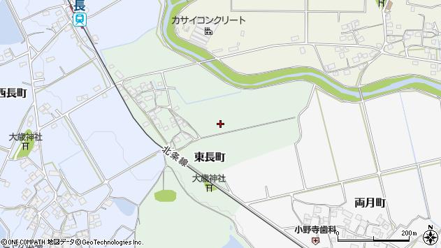 〒675-2341 兵庫県加西市東長町の地図
