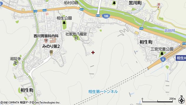 〒697-0034 島根県浜田市相生町の地図