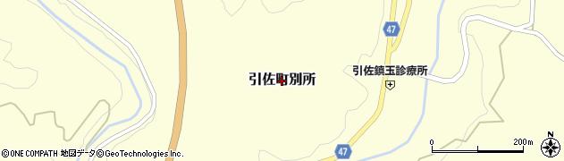 静岡県浜松市北区引佐町別所周辺の地図