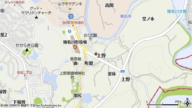〒666-0244 兵庫県川辺郡猪名川町上野の地図