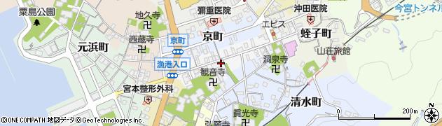 島根県浜田市真光町周辺の地図