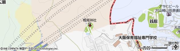 椎尾神社周辺の地図