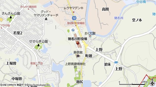 〒666-0200 兵庫県川辺郡猪名川町(以下に掲載がない場合)の地図