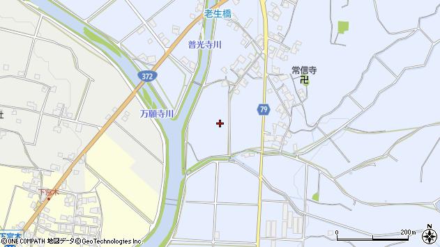〒675-2101 兵庫県加西市繁昌町の地図