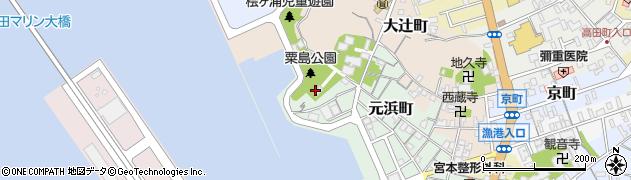 大歳神社周辺の地図