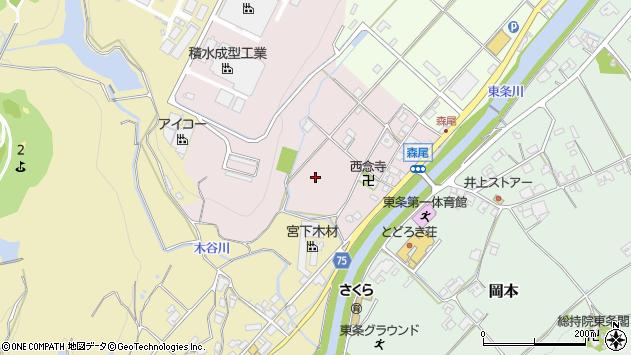 〒673-1331 兵庫県加東市森尾の地図