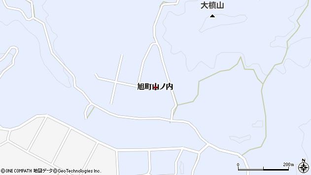 〒697-0421 島根県浜田市旭町山ノ内の地図