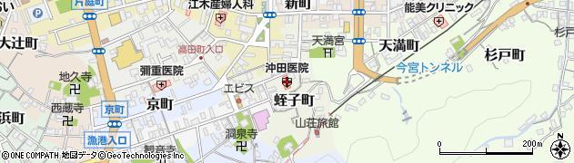 島根県浜田市蛭子町周辺の地図