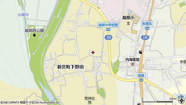 〒679-4333 兵庫県たつの市新宮町下野田の地図