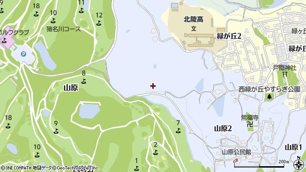 〒666-0154 兵庫県川西市山原の地図