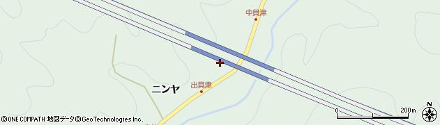 愛知県岡崎市鳥川町(出貝津)周辺の地図