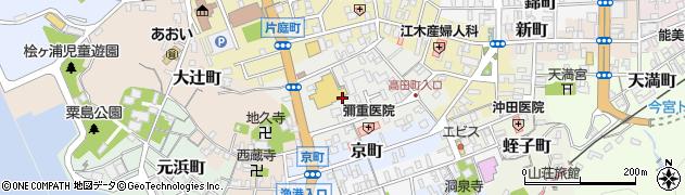 島根県浜田市高田町周辺の地図