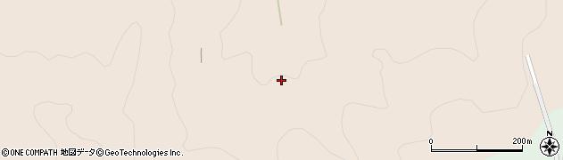 愛知県岡崎市鹿勝川町(仏松)周辺の地図