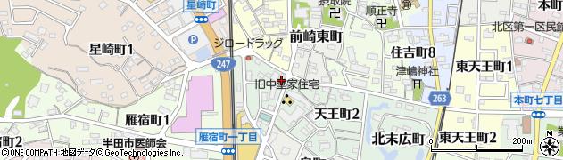 ジャポネ周辺の地図