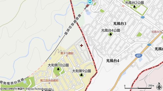 〒666-0104 兵庫県川西市笹部の地図
