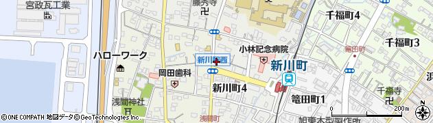 マルミツ茶店周辺の地図