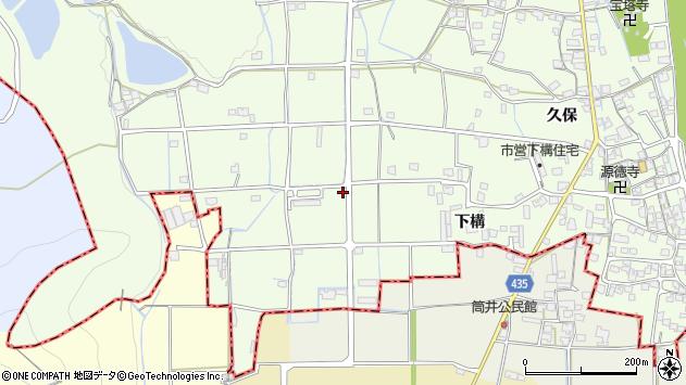〒679-4202 兵庫県姫路市林田町下構の地図