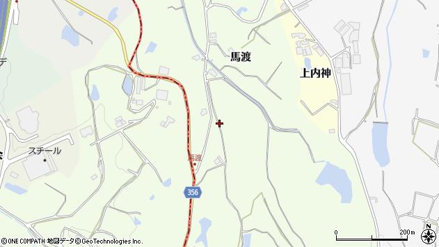 〒669-1336 兵庫県三田市馬渡の地図