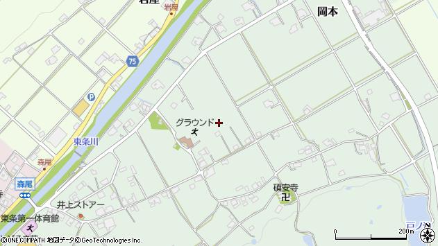 〒673-1323 兵庫県加東市岡本の地図