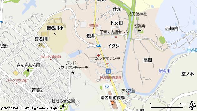〒666-0243 兵庫県川辺郡猪名川町柏梨田の地図