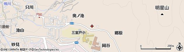白龍山宝珠寺周辺の地図
