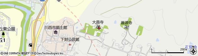 大昌寺周辺の地図