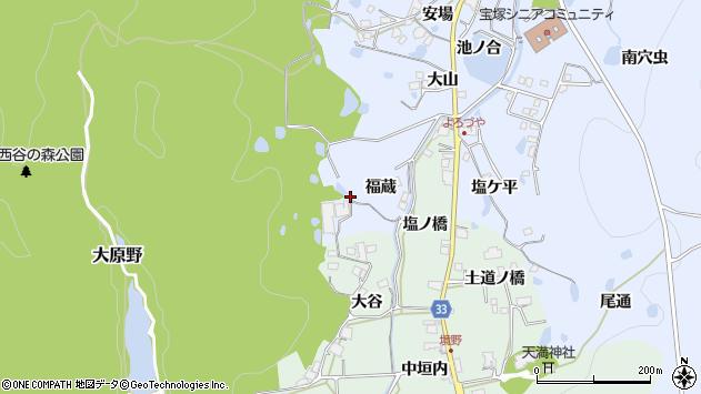 〒669-1211 兵庫県宝塚市大原野の地図