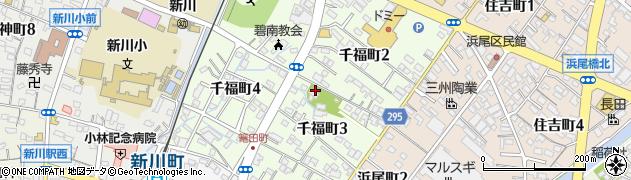 斉宮社周辺の地図