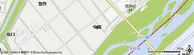 愛知県安城市木戸町(中畑)周辺の地図