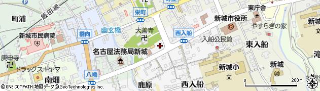倶楽部MADONNA周辺の地図
