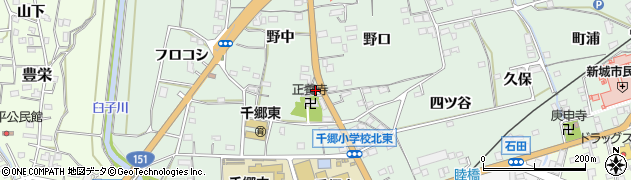 花まつり周辺の地図