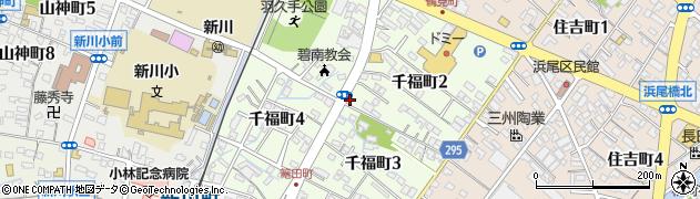 居酒屋愛周辺の地図