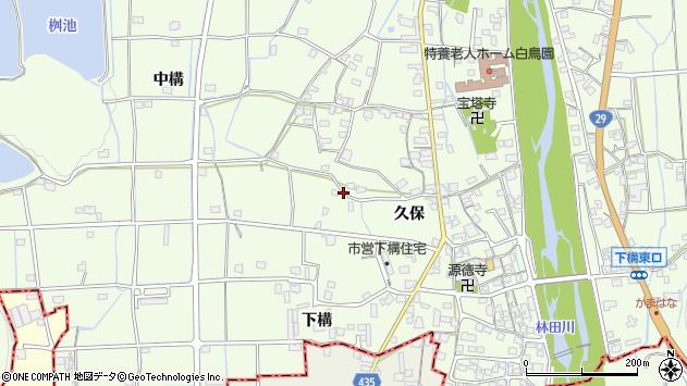 〒679-4201 兵庫県姫路市林田町久保の地図
