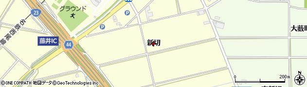 愛知県安城市藤井町(新切)周辺の地図