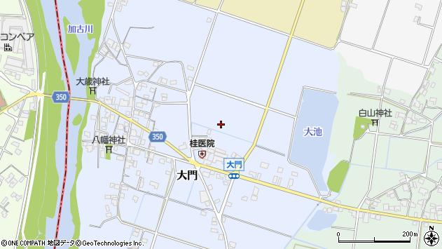 〒673-1445 兵庫県加東市大門の地図