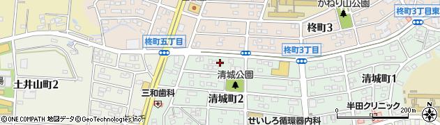 いち周辺の地図