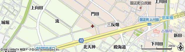 愛知県岡崎市国正町(須成)周辺の地図